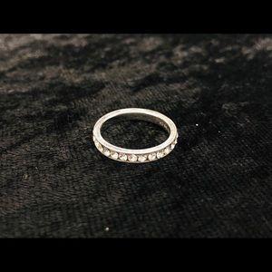 Charming Charlie Pavé 'Diamond' Band Fashion Ring
